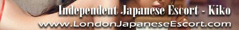 London Independent Japanese Escort