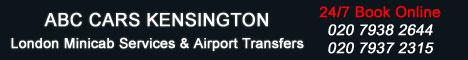London Airport Transfers Kensington Minicab